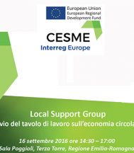 COEM TAKES PART IN THE EMILIA ROMAGNA REGION'S WORKSHOP ON THE CIRCULAR ECONOMY